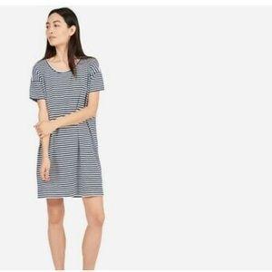 Everlane striped T-shirt dress